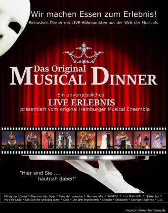 Musical Dinner am 12. Januar 2018